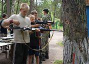 В Волгограде прошла военно-спортивная игра «Зарница»