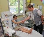 В Волжском открылся детский диализный центр