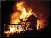 При пожаре в частном доме погиб пенсионер