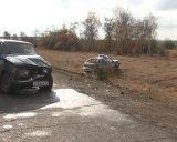 Под Волгоградом пьяный водитель протаранил милицейскую машину