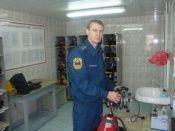 Волгоградец стал лучшим пожарным