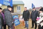 Областные депутаты-единороссы оказали помощь погорельцам