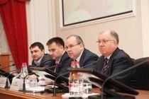 Константин Храмов провел первое заседание волгоградского правительства