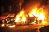 Ночью в Волгограде сожгли внедорожник