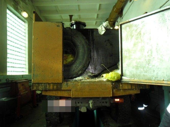 В Волгоградской области перевернулась цистерна с газом