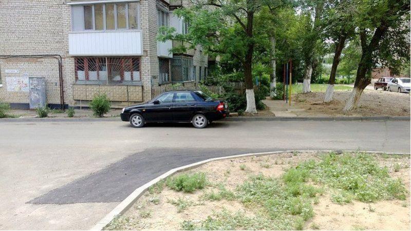 В Волгограде дороги отремонтировали набело