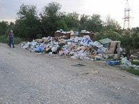 В Волгоградской области ликвидируют стихийные свалки