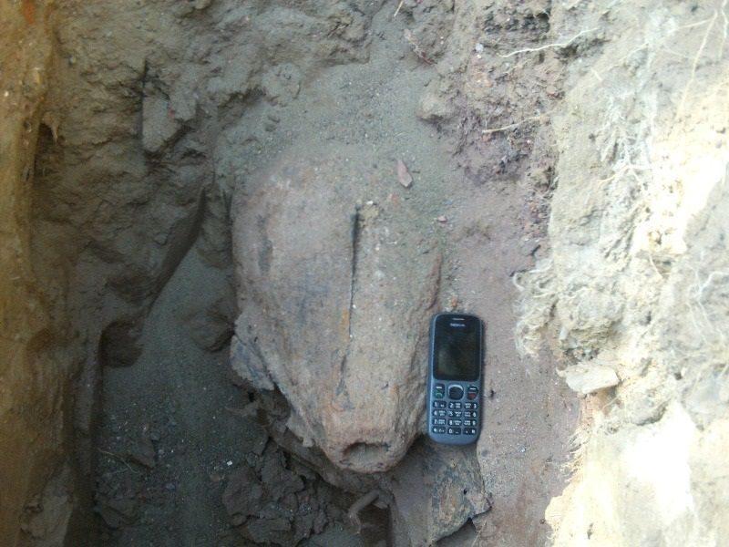 В Волгограде на стройплощадке нашли боеприпас времен ВОВ
