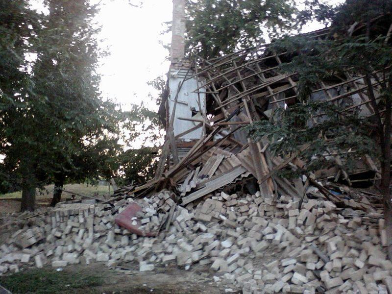 В Волгоградской области из-за взрыва обрушился дом