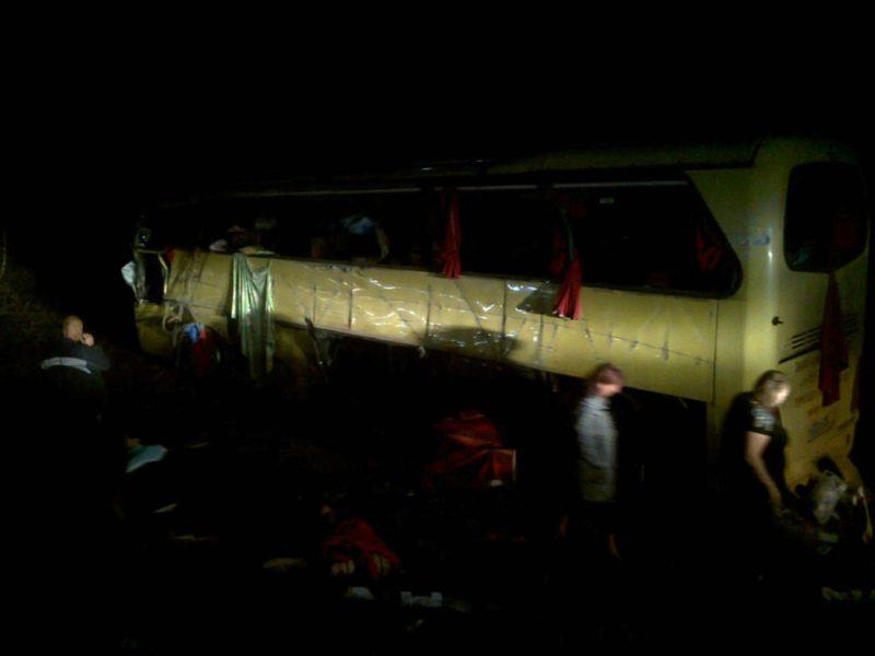 В Волгоградской области не разъехались автобус с грузовиком