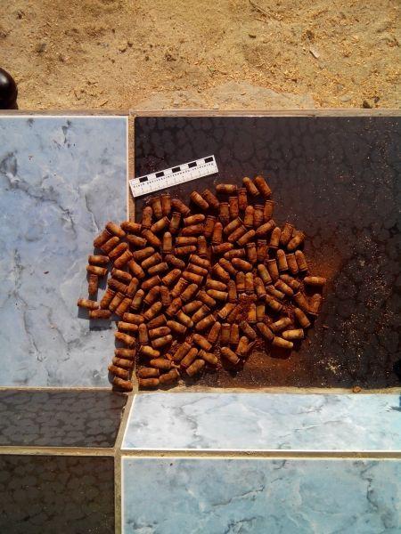 Волгоградский пенсионер нашел тайник с боеприпасами