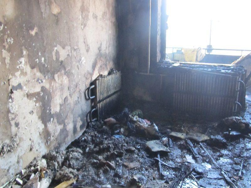 Под Волгоградом на пожаре погиб трехлетний малыш