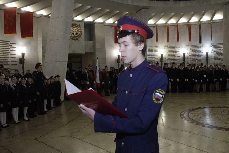 В Волгограде прибавилось кадетов