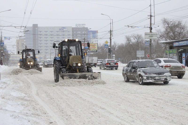 В Волгограде прогнозируют гололед