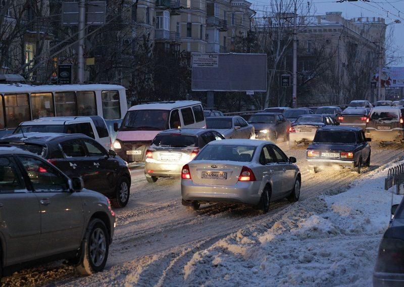 На федеральной трассе Сызрань – Волгограда ограничено движение большегрузов