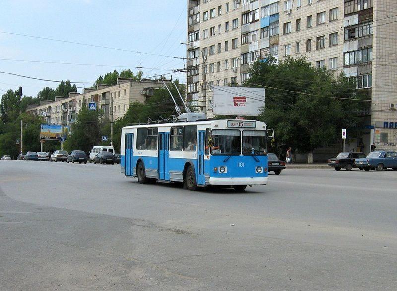 В троллейбусе в Волгограде обнаружили подозрительные пакеты