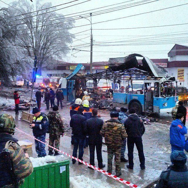 В Волгограде взорвали троллейбус на Каче