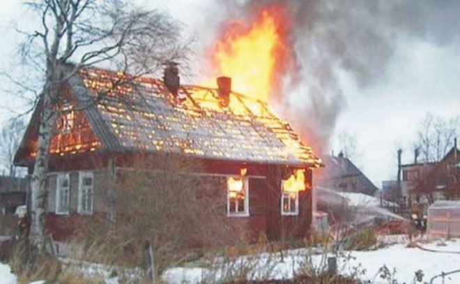 В Палласовском районе при пожаре погиб хуторянин