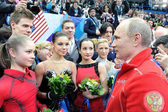 Президент поздравил российских фигуристов с золотом