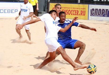 С 29 июля по 3 августа на площади перед Центральным стадионом Волгограда состоится Суперфинал чемпионата России-2014 по пляжному футболу