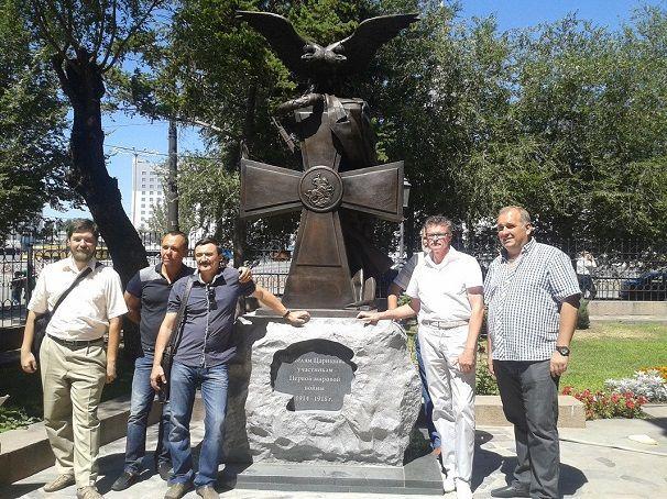 В Волгограде будет открыт памятник участникам Первой мировой войны