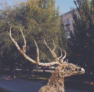 Декоративные арт-объекты Волгограда на зиму останутся на улицах