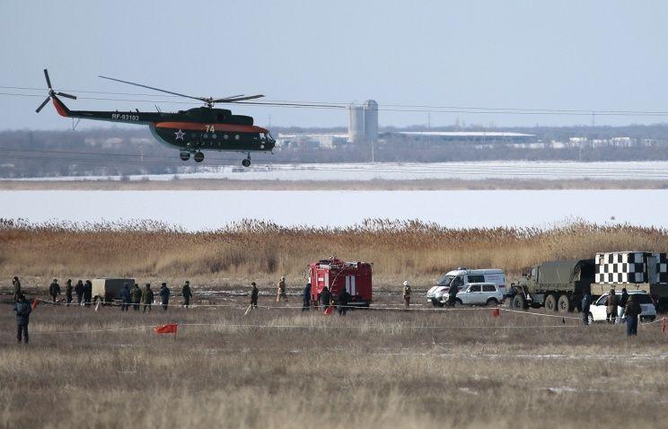 Специалисты изучают черные ящики с разбившегося под Волгоградом Су-24