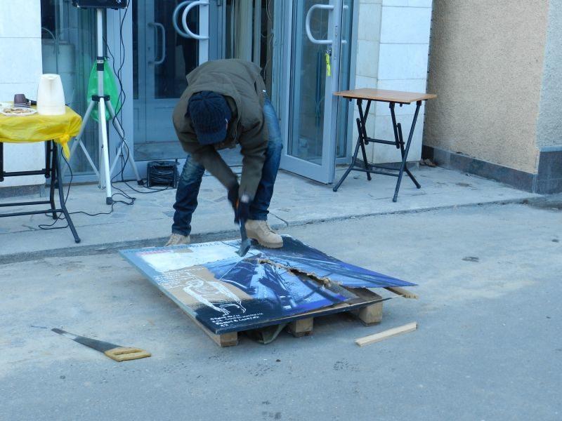 В Волгограде показали  «43% искусства»