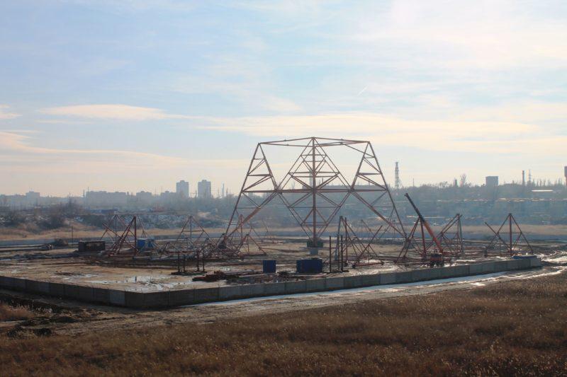 На западе Волгограда строят самую высокую телебашню в 256 метров