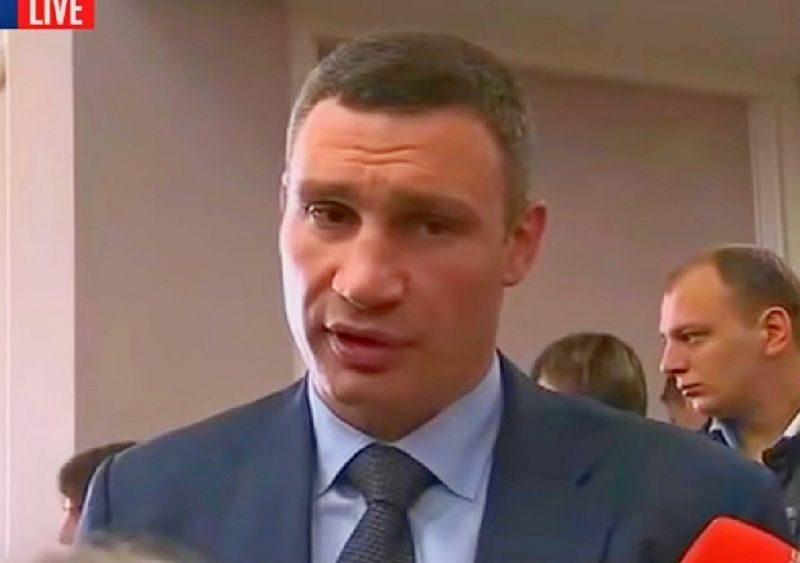Владимир Кличко заявил о своей готовности пойти в украинскую армию
