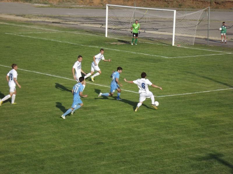 Волгоградский «Ротор» сыграл первый матч в Абрау-Дюрсо