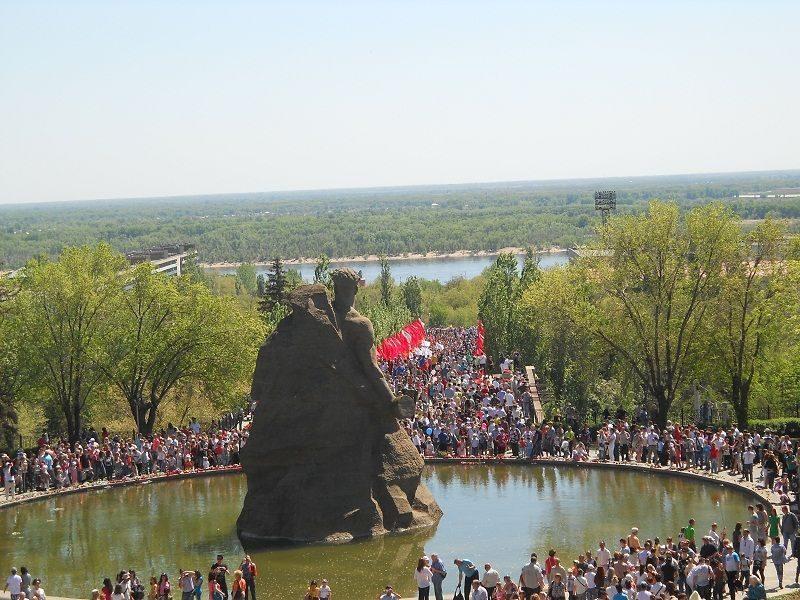 В Волгограде в параде 9 мая примут участие вертолетные подразделения