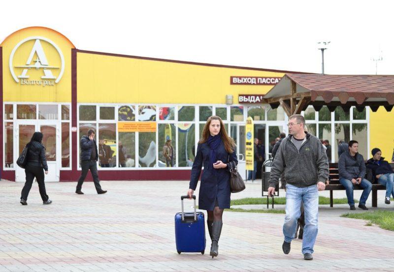 В аэропорту прошло открытие нового рейса «Волгоград-Санкт-Петербург»