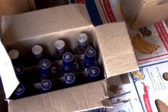 Из гаража в Волгограде полиция изъяла 2 тысячи литров опасного алкоголя
