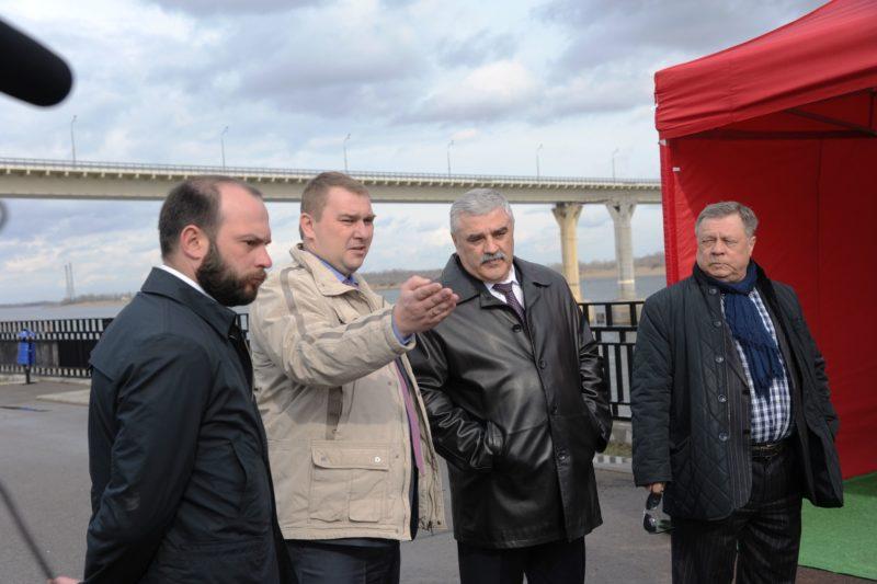 В Волгограде укреплять берег Волги к ЧМ-2018 закончат раньше срока