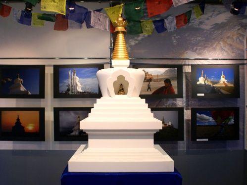 В центре Волгограда на два месяца поставят буддийскую ступу