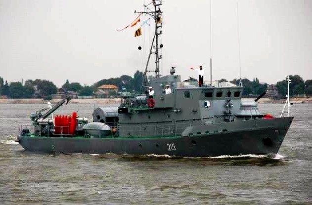Из Астрахани в Волгоград ко Дню Победы вышли корабли Каспийской флотилии
