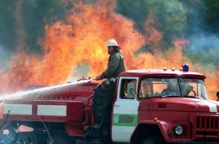 МЧС по Волгоградской области: дождливая погода уменьшила число ландшафтных пожаров