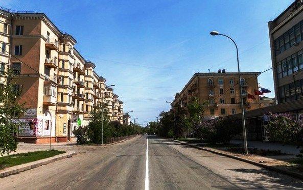 В Волгограде на две недели перекроют движение на улице Мира