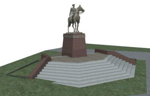 2 мая в Волгограде пройдет открытие памятника маршалу Рокоссовскому