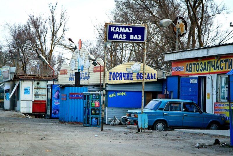 До 1 мая трассу до Москвы под Михайловкой отчистят от нелегальных забегаловок