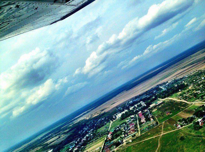 В небе над Волгоградом пилотов «Победы» пытались ослепить лазером