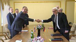 Сергей Лавров и Франк-Вальтер Штайнмайер в Волгограде обсудили двусторонние отношения