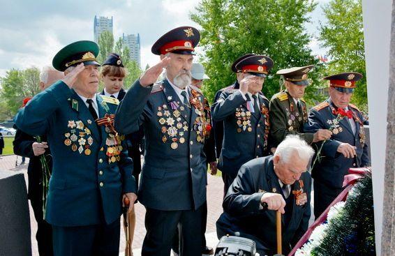 Сегодня в Волгограде прошло открытие отреставрированного памятника Чекистам