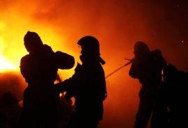 Под Волгоградом на пожаре сгорел мужчина