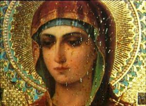 В Волгограде пребывает мироточивый образ Божией Матери «Семистрельная»