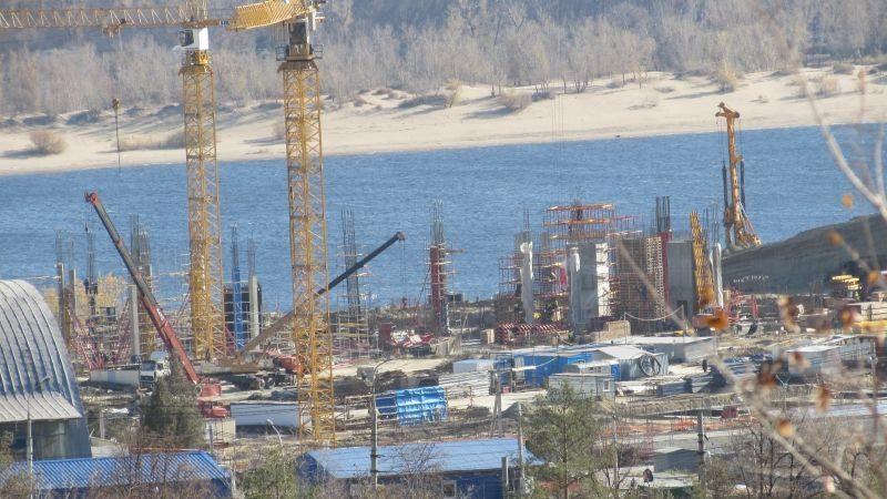 Причины инцидента на стройке «Волгоград-Арена» расследует спецкомиссия