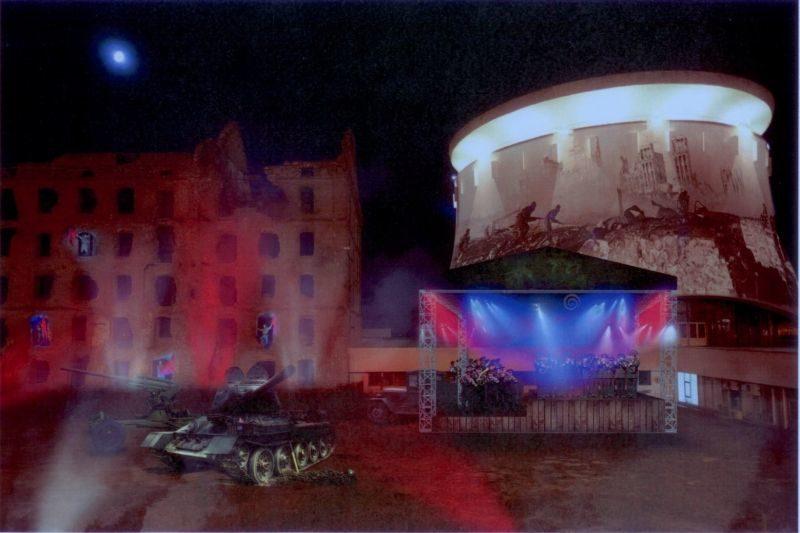 В День героев Отечества волгоградцев ждет видеопредставление и концерт военного духового оркестра