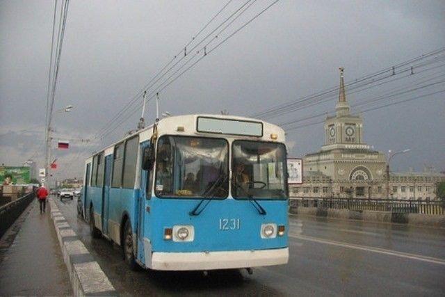 В Волгограде два троллейбуса временно обслуживаться не будут