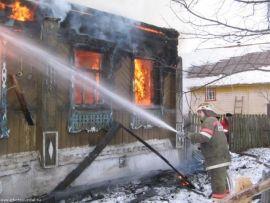 В Николаевском районе в пожаре погиб мужчина